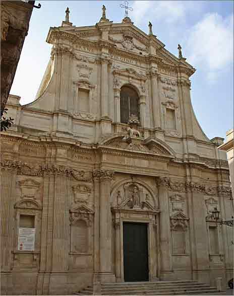 Lecce Chiesa di Santa Irene di Teatini