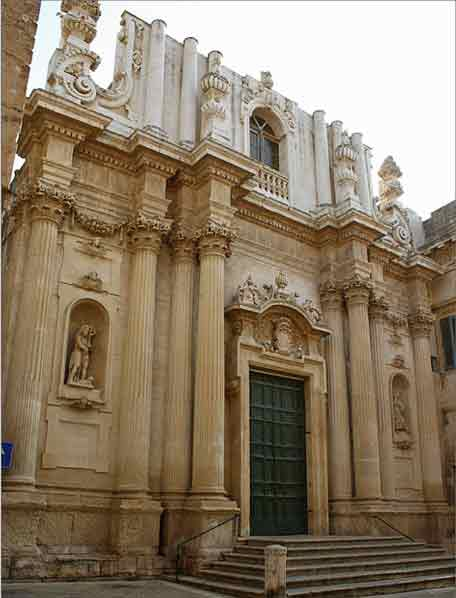 Lecce Chiesa di Santa Teresa