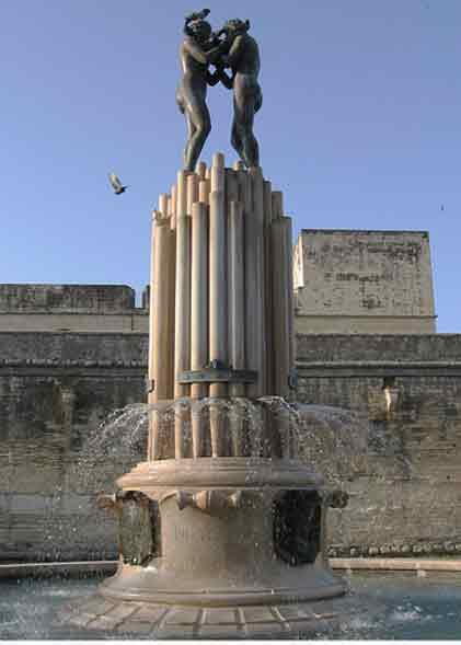 Lecce Fontana dell Armonia