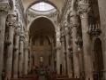 Lecce Basilica di Santa Croce navata centrale